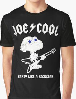 Snoopy Joe Cool Rock Graphic T-Shirt