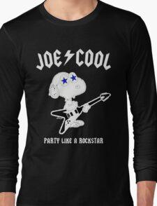 Snoopy Joe Cool Rock Long Sleeve T-Shirt