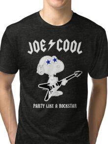 Snoopy Joe Cool Rock Tri-blend T-Shirt