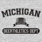 Michigan Beerthletics Dept. by apalooza