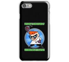 Dexter's Laboratory  iPhone Case/Skin