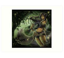 Skylar Fox Art Print
