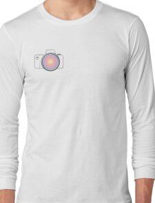 DSLR Camera 1 SideLOGO Long Sleeve T-Shirt