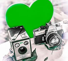 I ♥ Photography Green by Livonne