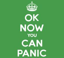 Brexit Panic Keep Calm Parody Kids Tee