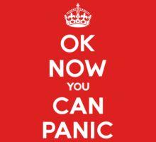 Brexit Panic Keep Calm Parody Kids Tee