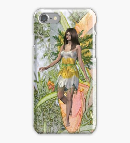 Lily the flower fae iPhone Case/Skin