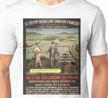 Vintage poster - WWI Canadian Recruiting Unisex T-Shirt
