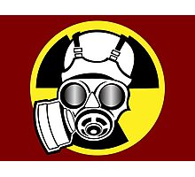 Biohazard Logo Photographic Print