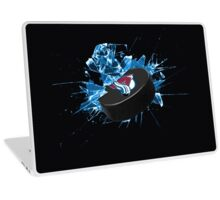 Avalanche Puck Laptop Skin
