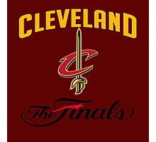 the Final Cleveland nba 2016 champions Photographic Print