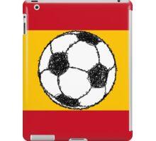 Football Sketch, Spain iPad Case/Skin