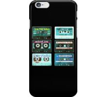 OLD CASSETTE TAPES iPhone Case/Skin