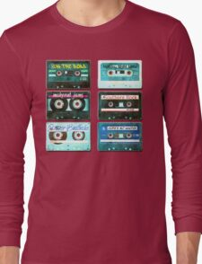 OLD CASSETTE TAPES Long Sleeve T-Shirt