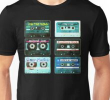 OLD CASSETTE TAPES Unisex T-Shirt