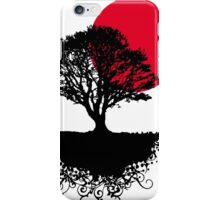 Red Sunset, Asian iPhone Case/Skin