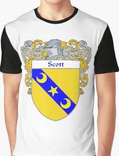 Scott Coat of Arms / Scott Family Crest Graphic T-Shirt