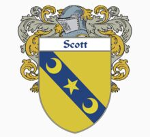 Scott Coat of Arms / Scott Family Crest One Piece - Long Sleeve