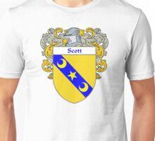 Scott Coat of Arms / Scott Family Crest Unisex T-Shirt