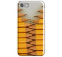 Yellow Pencils iPhone Case/Skin