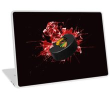 Blackhawks Puck Laptop Skin