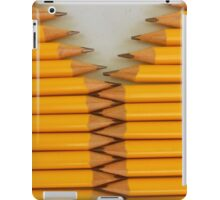 Yellow Pencils iPad Case/Skin