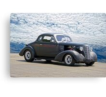 1938 Chevrolet Master Coupe Canvas Print