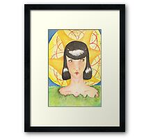 Earth Goddess Framed Print