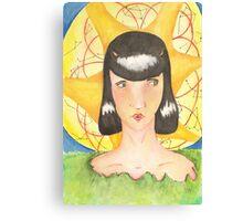 Earth Goddess Canvas Print