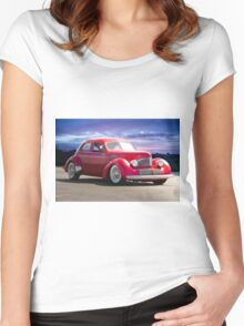 1940 Hollywood Graham I Women's Fitted Scoop T-Shirt