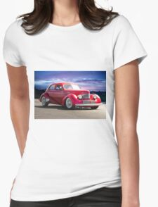 1940 Hollywood Graham I Womens Fitted T-Shirt