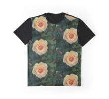 Apricot Rose .. after the rain 5 Graphic T-Shirt