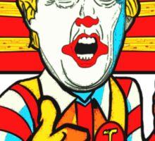 The Clown Prince McDonald Sticker