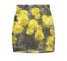 Wattle flower Mini Skirt