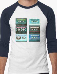 OLD CASSETTE MIX TAPES Men's Baseball ¾ T-Shirt