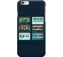 OLD CASSETTE MIX TAPES iPhone Case/Skin
