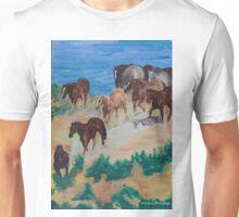 Herd of horses Unisex T-Shirt
