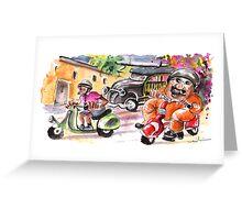 Sicilian Traffic 01 Greeting Card