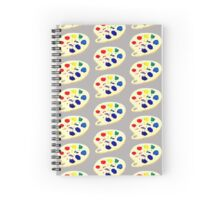 Meta Painted Palette Spiral Notebook