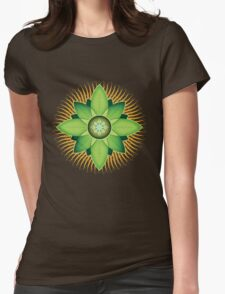 Central Anahata Womens Fitted T-Shirt