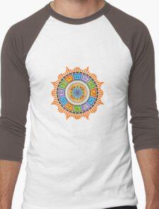 Zodiac Sun Men's Baseball ¾ T-Shirt