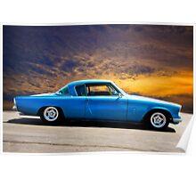 1953 Studebaker 'Blue Streak' Commander Poster
