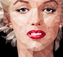 Marilyn Monroe Polyart Sticker