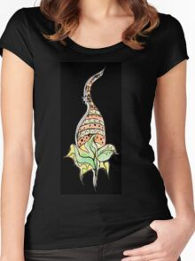 Plant with flower Women's Fitted Scoop T-Shirt