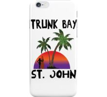 Trunk Bay St. John iPhone Case/Skin