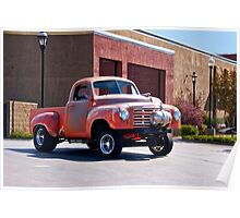 1948 Studebaker 'Gasser' Pickup II Poster