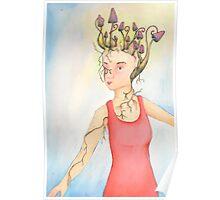 Shroom Goddess Poster