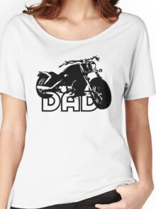 Biker Motorcycle Women's Relaxed Fit T-Shirt