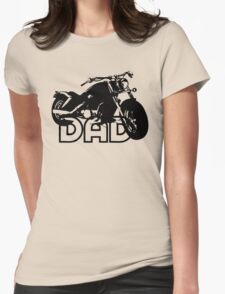 Biker Motorcycle Womens Fitted T-Shirt