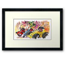 Sicilian Traffic 02 Framed Print